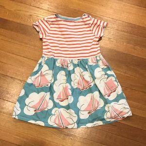 Mini Boden dress, size 5-6Y